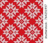 traditional scandinavian... | Shutterstock .eps vector #764251957