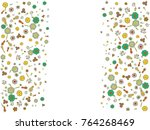 abstract background on a theme... | Shutterstock .eps vector #764268469
