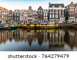 Amsterdam Canal Houses And...