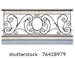 Decorative  Fence Of The...
