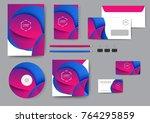 reative corporate identity...   Shutterstock .eps vector #764295859