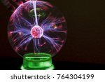corona discharge in a gaseous... | Shutterstock . vector #764304199