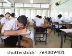 bangprok pathumtani thailand... | Shutterstock . vector #764309401