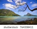 seascape of coron island ... | Shutterstock . vector #764338411