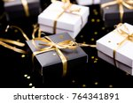 Black And White Gift Boxes Wit...