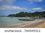 coron  philippines   apr 4 ...   Shutterstock . vector #764345311