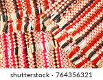 color of fabric warping.   Shutterstock . vector #764356321