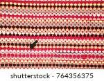 color of fabric warping.   Shutterstock . vector #764356375