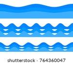 freshness natural theme  a... | Shutterstock .eps vector #764360047