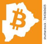 botswana map with bitcoin...   Shutterstock .eps vector #764360605