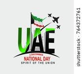uae national day | Shutterstock .eps vector #764372761