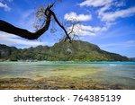 seascape of coron island  the... | Shutterstock . vector #764385139