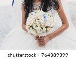 fairy wedding ceremony | Shutterstock . vector #764389399