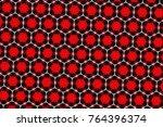 mosaic pattern kaleidoscope | Shutterstock . vector #764396374