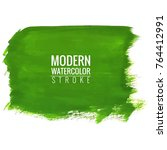 modern watercolor background | Shutterstock .eps vector #764412991