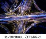 shanghai china aerial view... | Shutterstock . vector #764420104