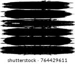 edges vector set . design... | Shutterstock .eps vector #764429611