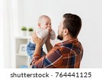 family  childhood  babyhood and ... | Shutterstock . vector #764441125
