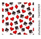 abstract vector illustration... | Shutterstock .eps vector #764455909