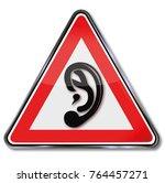 ear  hearing and throat... | Shutterstock . vector #764457271