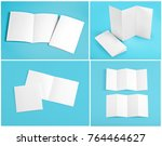 identity design  corporate... | Shutterstock . vector #764464627