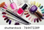 fashion and beauty.all for... | Shutterstock . vector #764472289