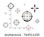 target icons set sniper scope...   Shutterstock .eps vector #764511235