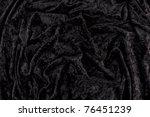 Full Background Of Black Velvet