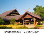 the doi tung royal villa at the ... | Shutterstock . vector #764540524