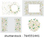 abstract background on a theme... | Shutterstock .eps vector #764551441