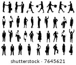 illustration of silhouette | Shutterstock .eps vector #7645621