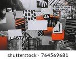 creative atmosphere art mood...   Shutterstock . vector #764569681