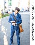 bucharest  romania    october... | Shutterstock . vector #764577364