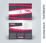 brochure template. business... | Shutterstock .eps vector #764580691
