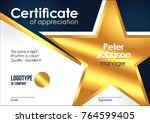 Certificate Of Appreciation...