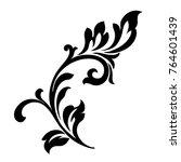 vector . victorian style.... | Shutterstock .eps vector #764601439
