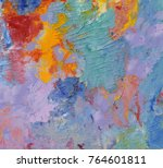 highly textured colorful... | Shutterstock . vector #764601811