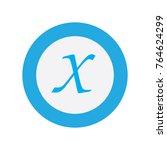 modern logo letter x   Shutterstock .eps vector #764624299