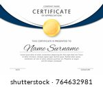 Certificate Template In Elegan...