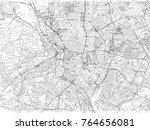 streets of madrid center  city... | Shutterstock .eps vector #764656081