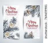christmas sketch hand drawn...   Shutterstock .eps vector #764659981