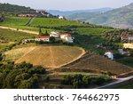 douro valley  portugal. top... | Shutterstock . vector #764662975