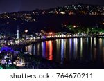 a night view of bodrum | Shutterstock . vector #764670211