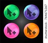 add cursor crystal ball design... | Shutterstock .eps vector #764671267