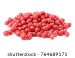 red sea buckthorn.shepherdia... | Shutterstock . vector #764689171