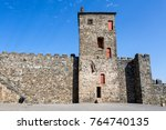 the castle of braganca is a... | Shutterstock . vector #764740135