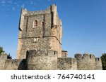 the castle of braganca is a... | Shutterstock . vector #764740141