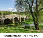 Small photo of Bridge over the river Vair at Autigny La Tour in the Vosges department, France