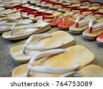 Small photo of Wooden Clog shoes