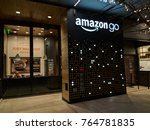 seattle  washington usa  ... | Shutterstock . vector #764781835